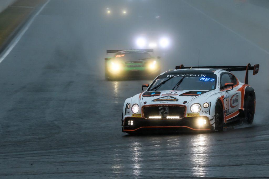 Derek Pierce Ryan Ratcliffe Glynn Geddie Andy Meyrick Team Parker Racing Bentley Continental Blancpain GT Series Endurance Cup 24h Spa