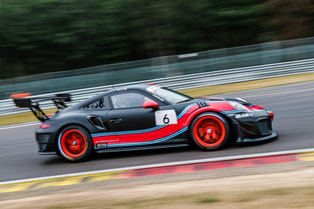 Sir Chris Hoy Porsche 911 GT2 RS Clubsport