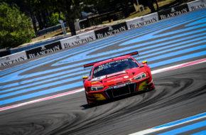Kim-Luis Schramm Finlay Hutchison Ivan Pareras Phoenix Racing Audi R8 LMS Blancpain GT Series Endurance Cup Le Castellet