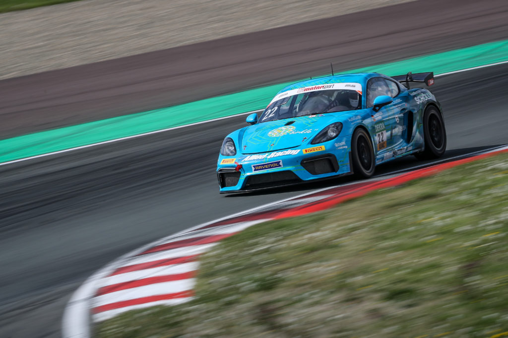 Jan Kasperlik Lars Kern Allied-Racing Porsche Cayman GT4 ADAC GT4 Germany Oschersleben