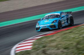Jan Kasperlik Lars Kern Allied-Racing Porsche Cayman GT4 ADAC GT4 Germany Oschersleben
