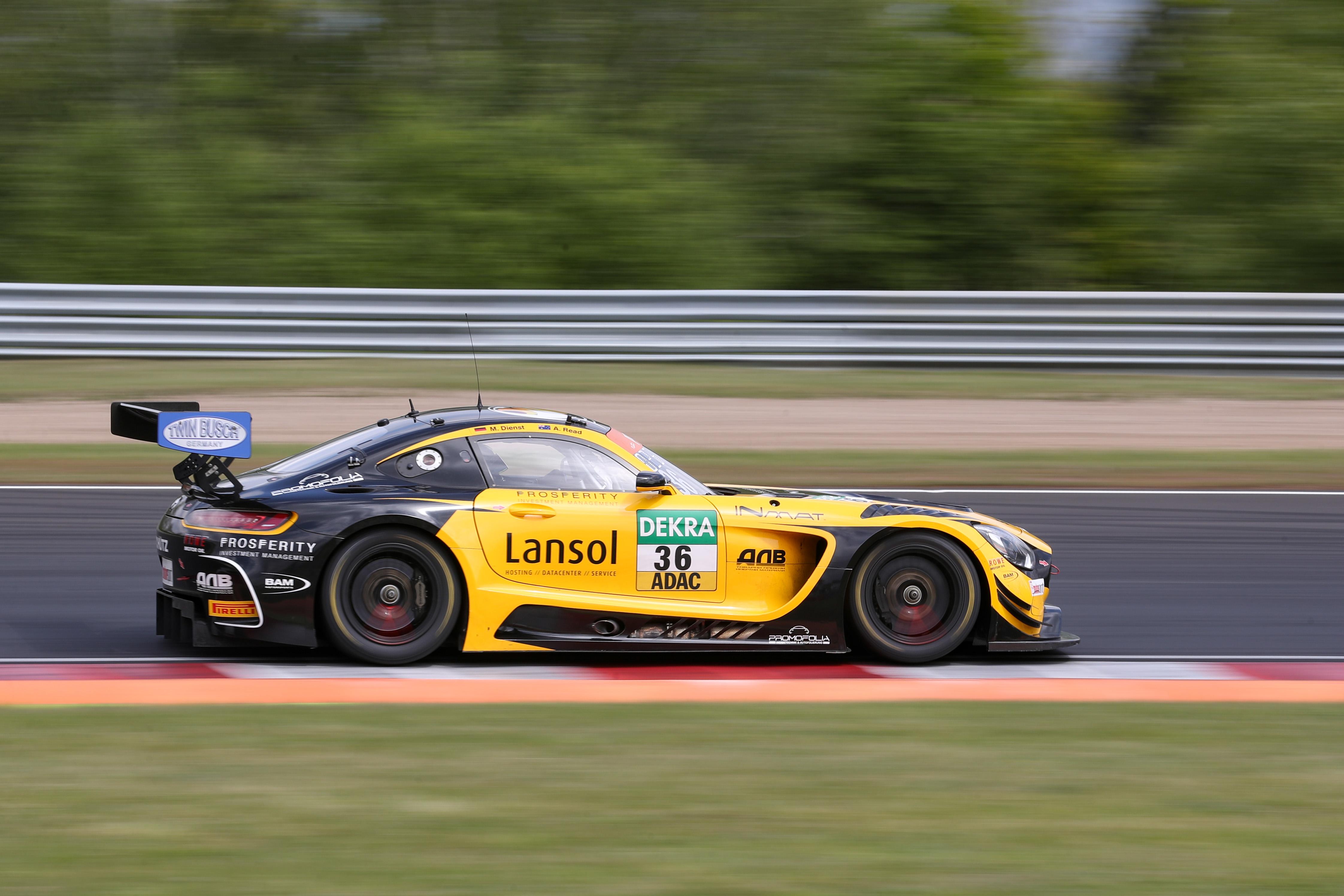Aidan Read Marvin Dienst Schütz Motorsport Mercedes AMG GT3 ADAC GT Masters Most