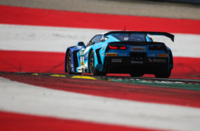 Sven Barth David Jahn RWT Racing Corvette C7 GT3-R ADAC GT Masters Red Bull Ring
