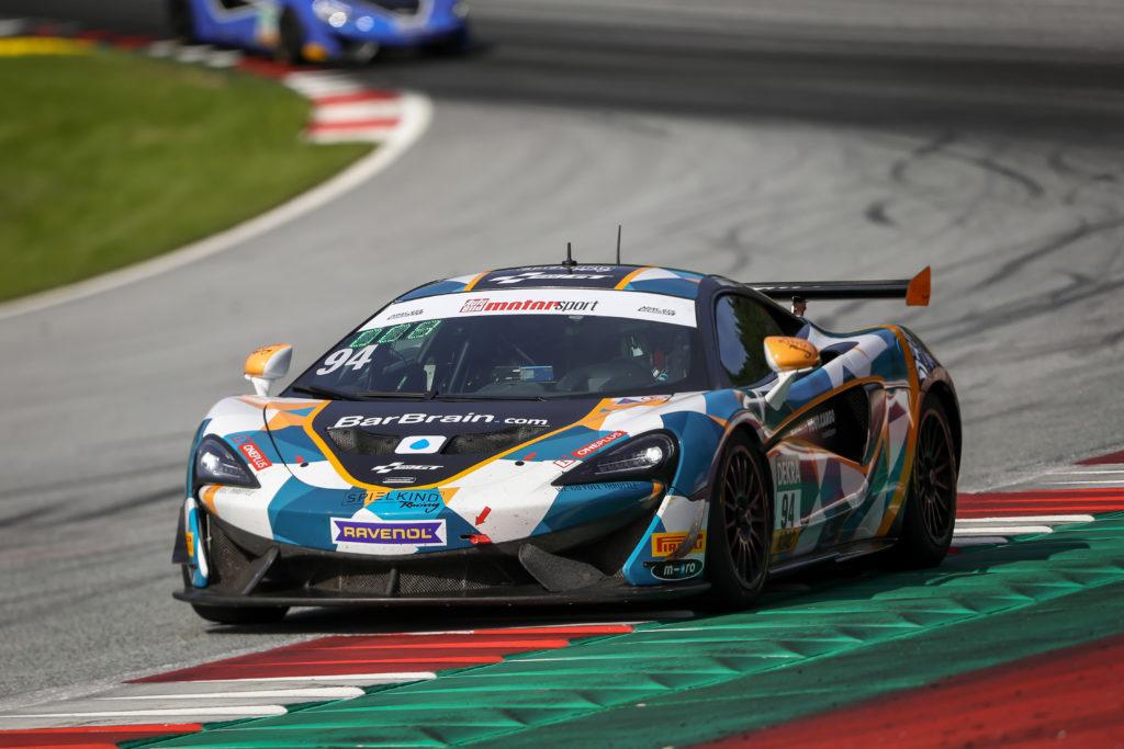 Felix von der Laden Alain Valente Team GT McLaren 570S GT4 Team GT ADAC GT4 Germany Red Bull Ring