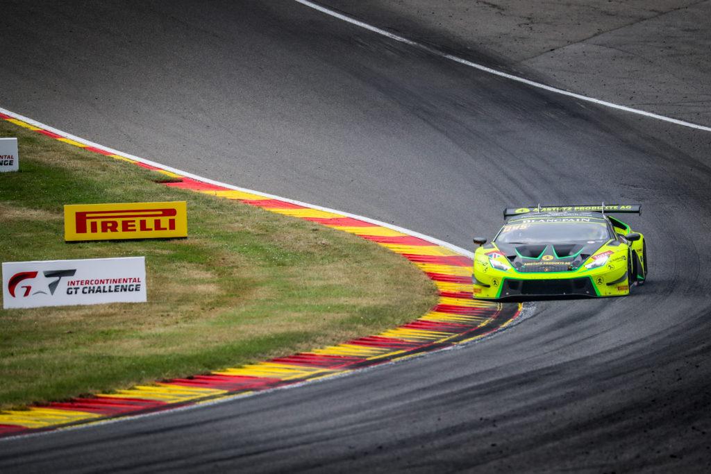 Adrian Amstutz Leo Matchiski Richard Abra Patrick Kujala Barwell Motorsport Lamborghini Huracan Blancpain GT Series Endurance Cup 24h Spa