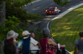 Dennis Olsen Zacharie Robichon Pfaff Motorsports Porsche 911 GT3 R IMSA WeatherTech SportsCar Championship Lime Rock Park