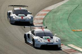 Gianmaria Bruni Richard Lietz Michael Christensen Kevin Estre Porsche 911 RSR FIA WEC Prolog Barcelona