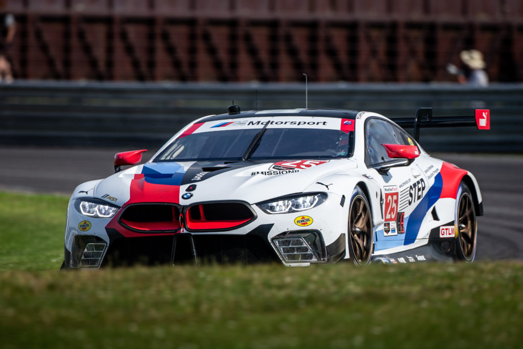 Connor de Phillippi Tom Blomqvist BMW M8 GTE BMW Team RLL IMSA WeatherTech SportsCar Championship Lime Rock Park