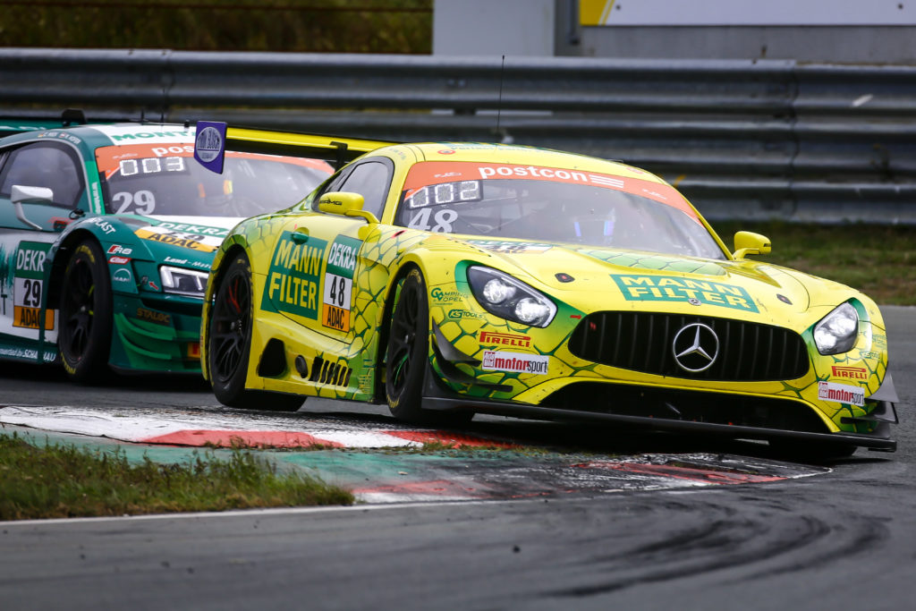 Philip Ellis Fabian Vettel MANN-FILTER Team HTP Mercedes AMG GT3 ADAC GT Masters Zandvoort