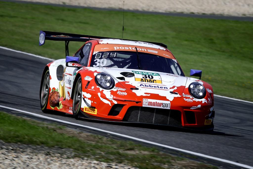 Klaus Abbelen Matt Campbell Frikadelli Racing Porsche 911 GT3 R ADAC GT Masters Nürburgring