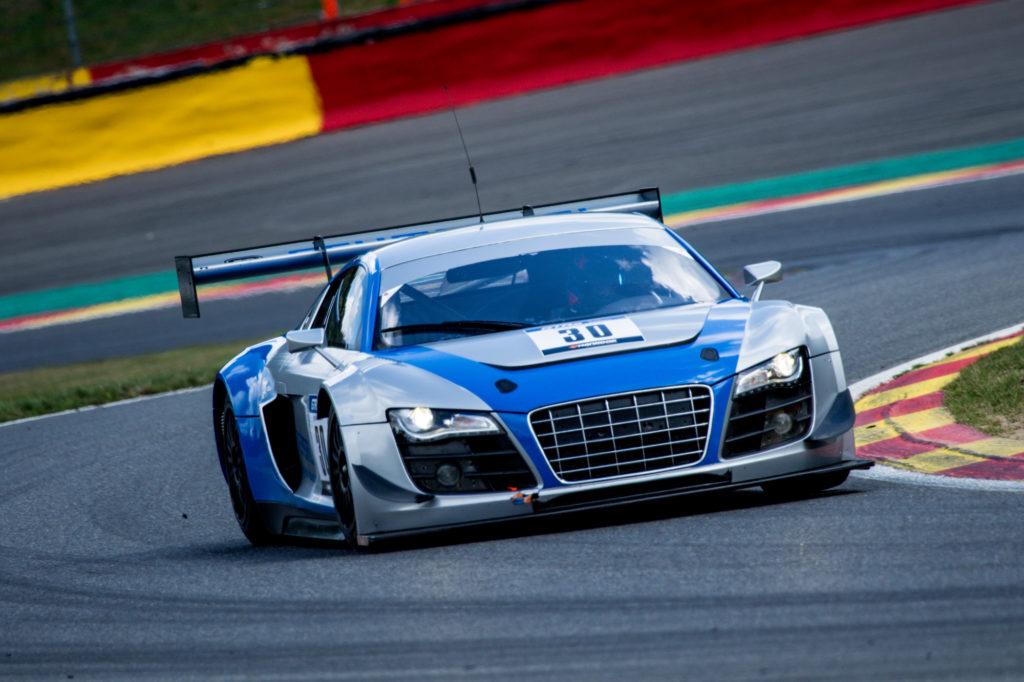 Heinz Schmersal Mike Stursberg Audi R8 LMS ultra GT- und Tourenwagen Racing Series Spa