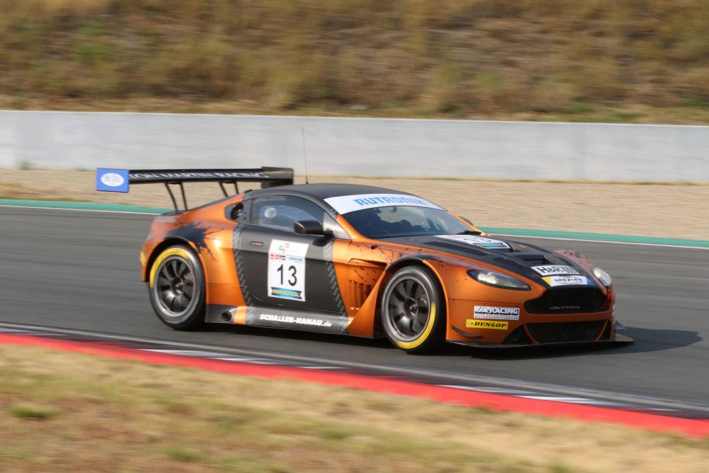Timo Scheibner Schaller Motorsport Aston Martin Vantage GT3 DMV GTC Oschersleben
