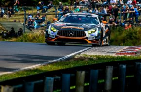 Patrick Assenheimer Maro Engel Black Falcon Team AutoArena Motorsport Mercedes AMG GT3 VLN