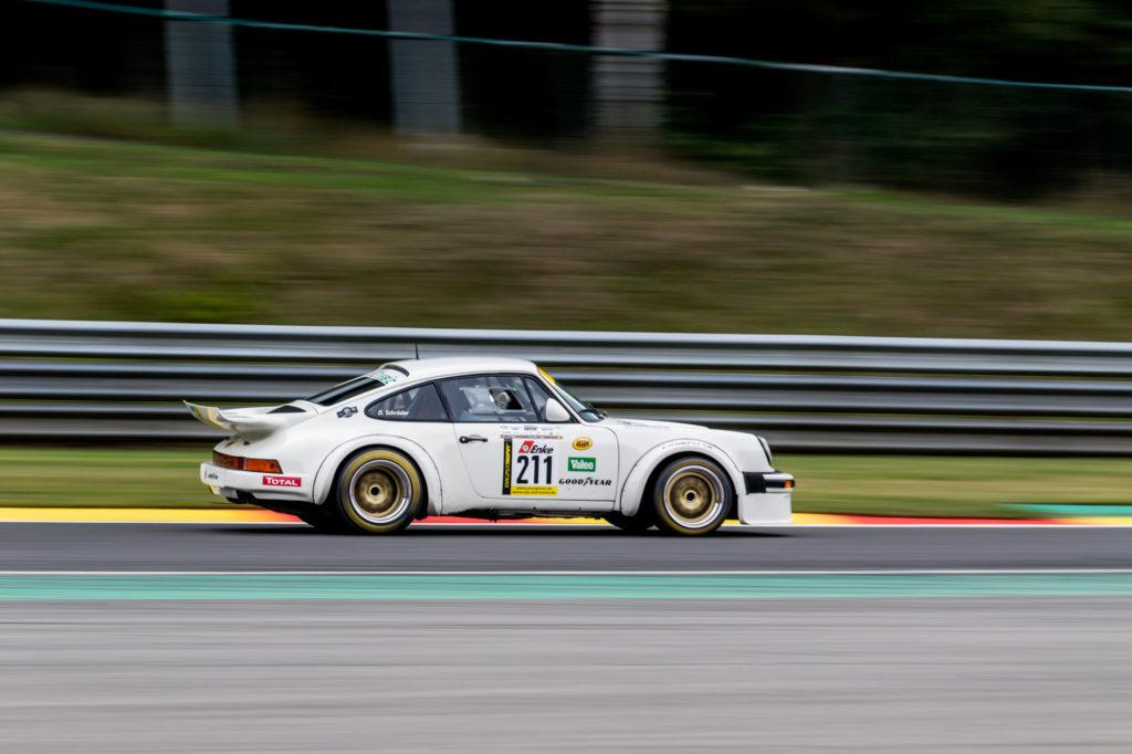 Dietmar Schröder Porsche 911 Youngtimer Trophy Spa