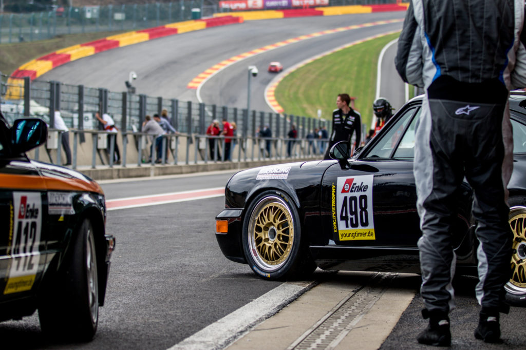 Marcus Menden Christian Vollmer Porsche 964 Cup Youngtimer Trophy Spa