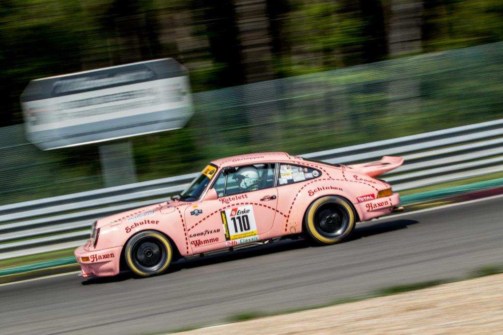 Bernd Langewiesche Porsche 911 RS 3.0 Youngtimer Trophy Spa