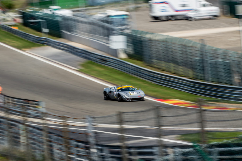 Georg Nolte Michael Funke Ford GT40 Youngtimer Trophy Spa