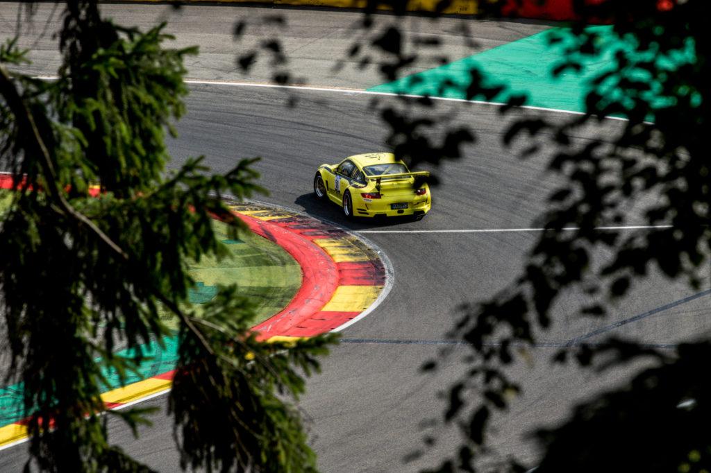 Michael Nolte Porsche 997 GT3 NM GT- und Tourenwagen Racing Series Spa-Francorchamps