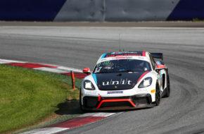 Hendrik Still Horst Hadergasser KÜS Team75 Bernhard Porsche Cayman GT4 ADAC GT4 Germany Red Bull Ring