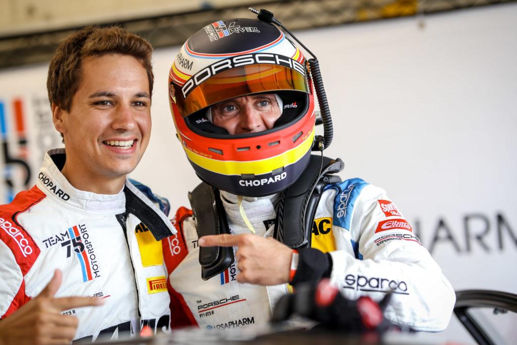 Klaus Bachler Timo Bernhard ADAC GT Masters Zandvoort