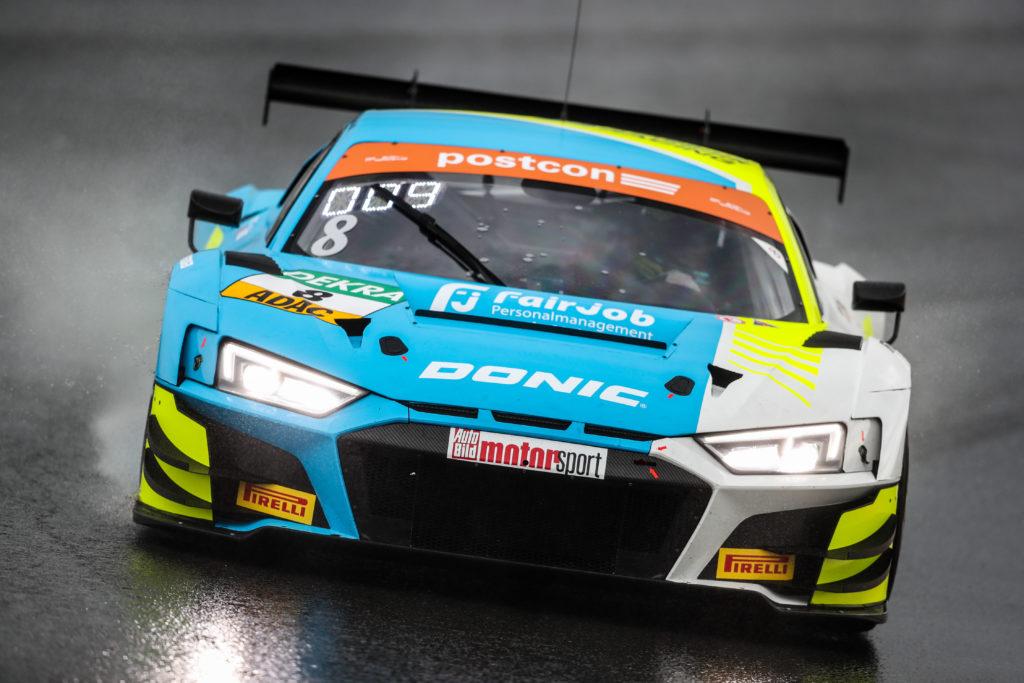 Dennis Marschall Carrie Schreiner HCB-Rutronik Racing Audi R8 LMS ADAC GT Masters Zandvoort