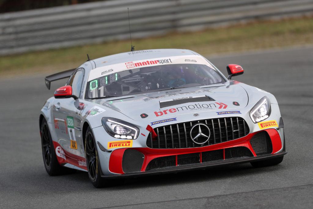 Oliver Mayer Jan Philipp Springob Bremotion ADAC GT4 Germany Mercedes AMG GT4 Zandvoort
