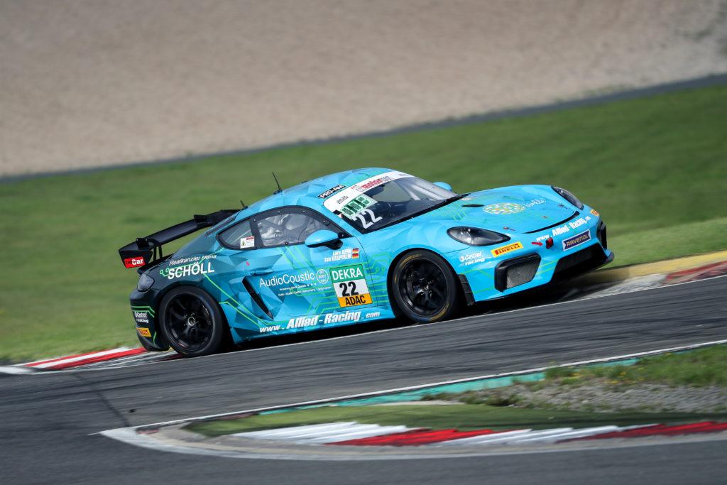 Jan Kasperlik Lars Kern Allied-Racing Porsche Cayman GT4 ADAC GT4 Germany Nürburgring