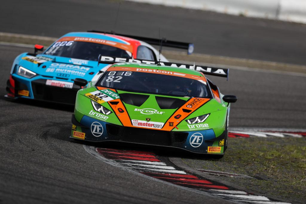 Rolf Ineichen Franck Perera Orange1 by GRT Grasser Lamborghini Huracan ADAC GT Masters Nürburgring