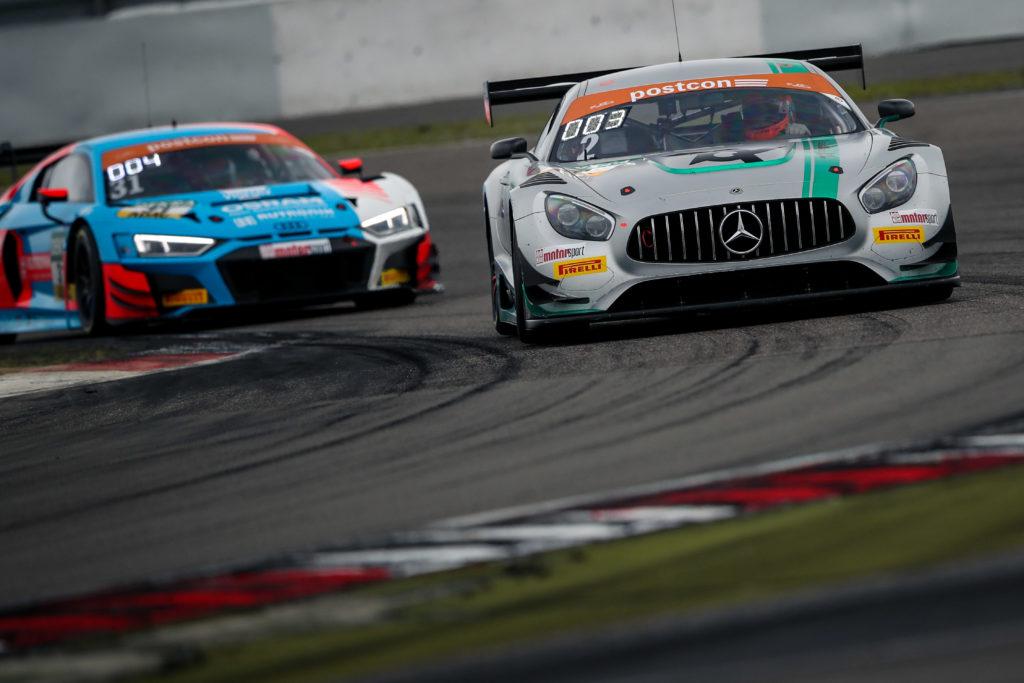Luca Stolz Maro Engel Toksport WRT Mercedes AMG GT3 ADAC GT Masters Nürburgring