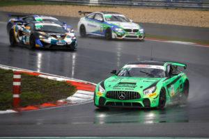 Tim Heinemann Luke Wankmüller HP Racing International Mercedes AMG GT4 ADAC GT4 Germany Nürburgring
