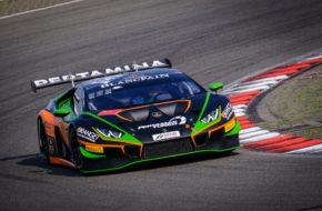 Marco Mapelli Andrea Caldarelli Orange 1 FFF Racing Team Lamborghini Huracan GT3 Blancpain GT World Challenge Europe Nürburgring