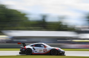 Earl Bamber Laurens Vanthoor Porsche 911 RSR IMSA WeatherTech SportsCar Championship Road America