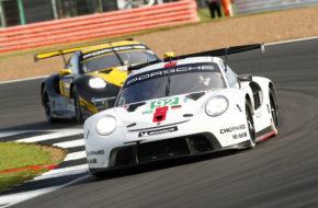 Michael Christensen Kevin Estre Porsche 911 RSR FIA WEC Silverstone
