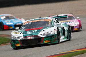 Max Hofer Christopher Mies Montaplast by Land-Motorsport Audi R8 LMS ADAC GT Masters Sachsenring