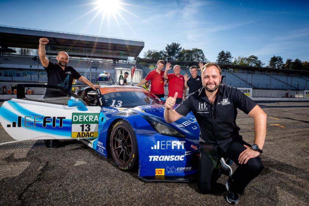 Sven Barth RWT Racing Corvette C7 GT3-R ADAC GT Masters Hockenheim