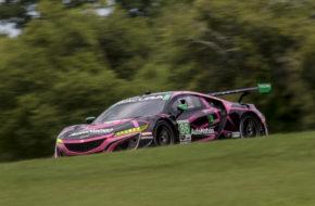 Mario Farnbacher Trent Hindman Meyer Shank Racing Acura NSX GT3 IMSA WeatherTech SportsCar Championship VIRginia International Raceway