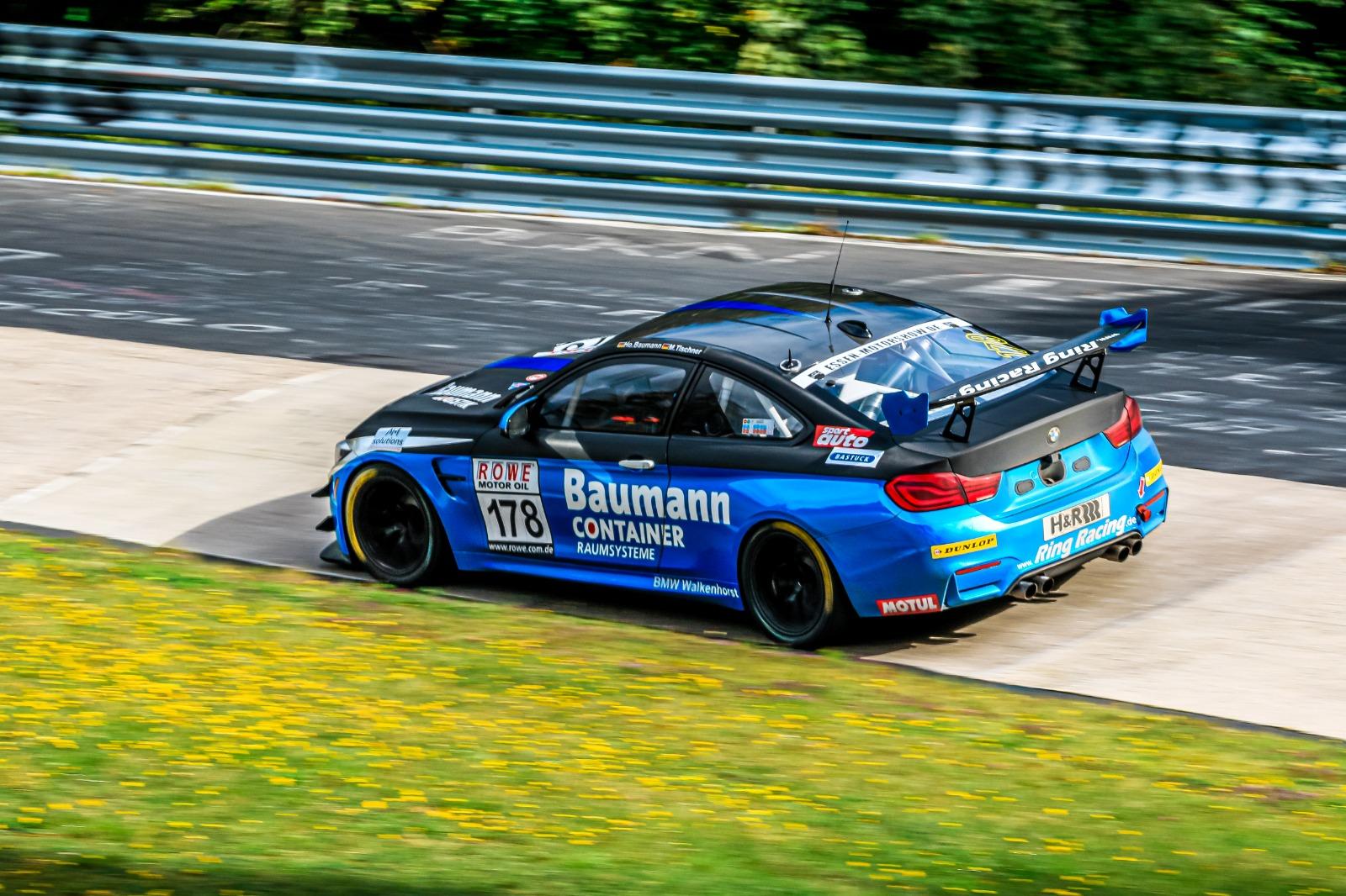 Horst Baumann Michael Tischner Klaus Niesen Ring Racing with Novel Racing BMW M4 GT4 VLN Nürburgring