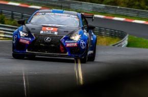 Yoshinobu Koyama Kota Sasaki Ring Racing with Novel Racing Lexus RCF VLN Nürburgring