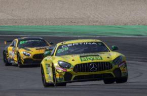 Luci Trefz Marcus Paverud Leipert Motorsport Mercedes AMG GT4 GT4 European Series Nürburgring