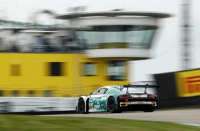 Ricardo Feller Frédéric Vervisch Montaplast by Land-Motorsport Audi R8 LMS ADAC GT Masters Sachsenring
