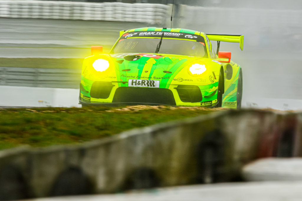 Otto Klohs Kevin Estre Lars Kern Manthey Racing Porsche 911 GT3 R VLN Nürburgring