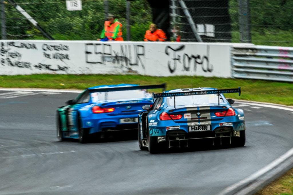 Nick Catsburg David Pittard Joda Fannin Walkenhorst Motorsport BMW M6 GT3 VLN Nürburgring