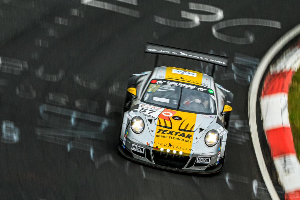 Peter Ludwig Takis Manuel Metzger Black Falcon Team Textar Porsche 911 GT3 Cup MR VLN Nürburgring