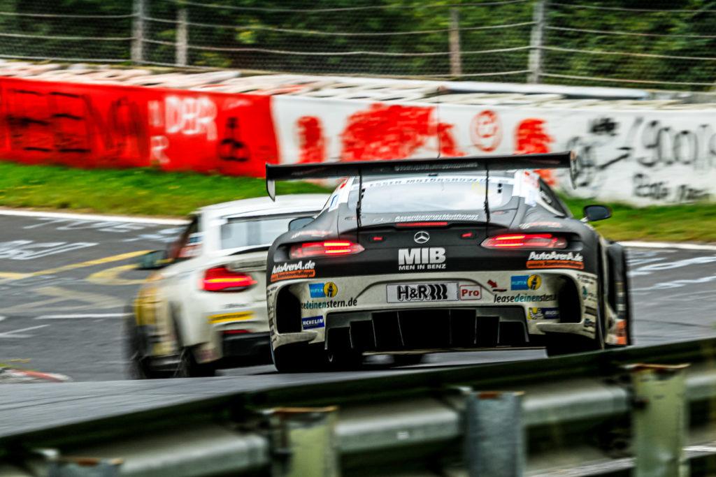 Patrick Assenheimer Manuel Metzger Black Falcon Team AutoArena Motorsport Mercedes AMG GT3 VLN Nürburgring