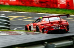 Dominik Baumann Philip Ellis GetSpeed Performance Mercedes AMG GT3 VLN Nürburgring