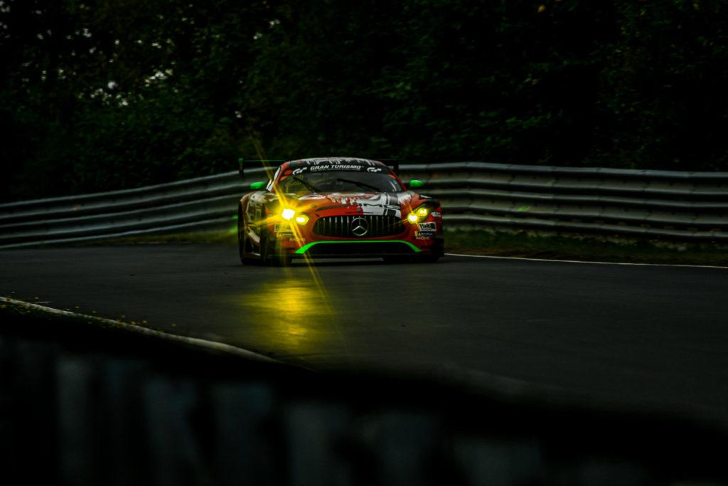 Fabian Schiller Janine Hill John Shoffner GetSpeed Performance Rooster Rojo J2Racing Mercedes AMG GT3 VLN Nürburgring