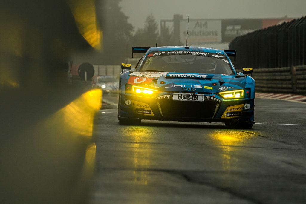 Frank Stippler Steve Jans Vincent Kolb Phoenix Racing Audi R8 LMS VLN Nürburgring