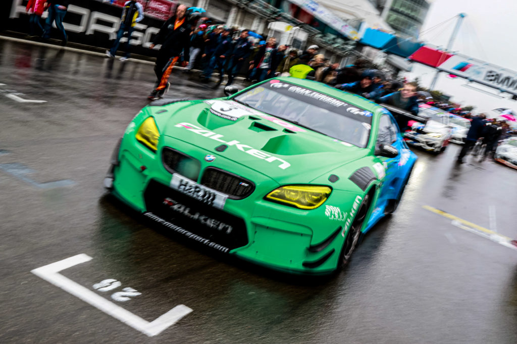 Peter Dumbreck Alexandre Imperatori Falken Motorsport BMW M6 GT3 VLN Nürburgring