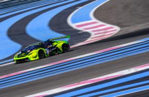 Adrian Amstutz Leo Machitski Barwell Motorsport Lamborghini Huracan Blancpain GT Series Endurance Cup Le Castellet