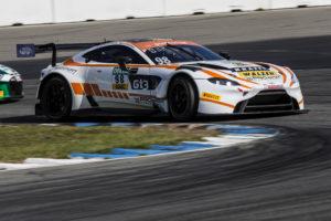 David Griessner Matthew George PROpeak Performance Aston Martin Vantage GT4 ADAC GT Masters Hockenheim